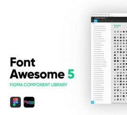 Font Awesome 5 Free Icons