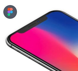 Isometric iPhone X Mockup for Figma