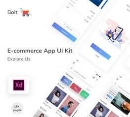 E-commerce UI App Design for Shopping - Fashion Store App Design