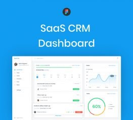 SaaS Dashboard UI Template