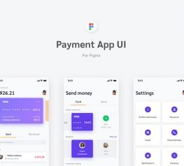 Payment App UI Kit for Figma