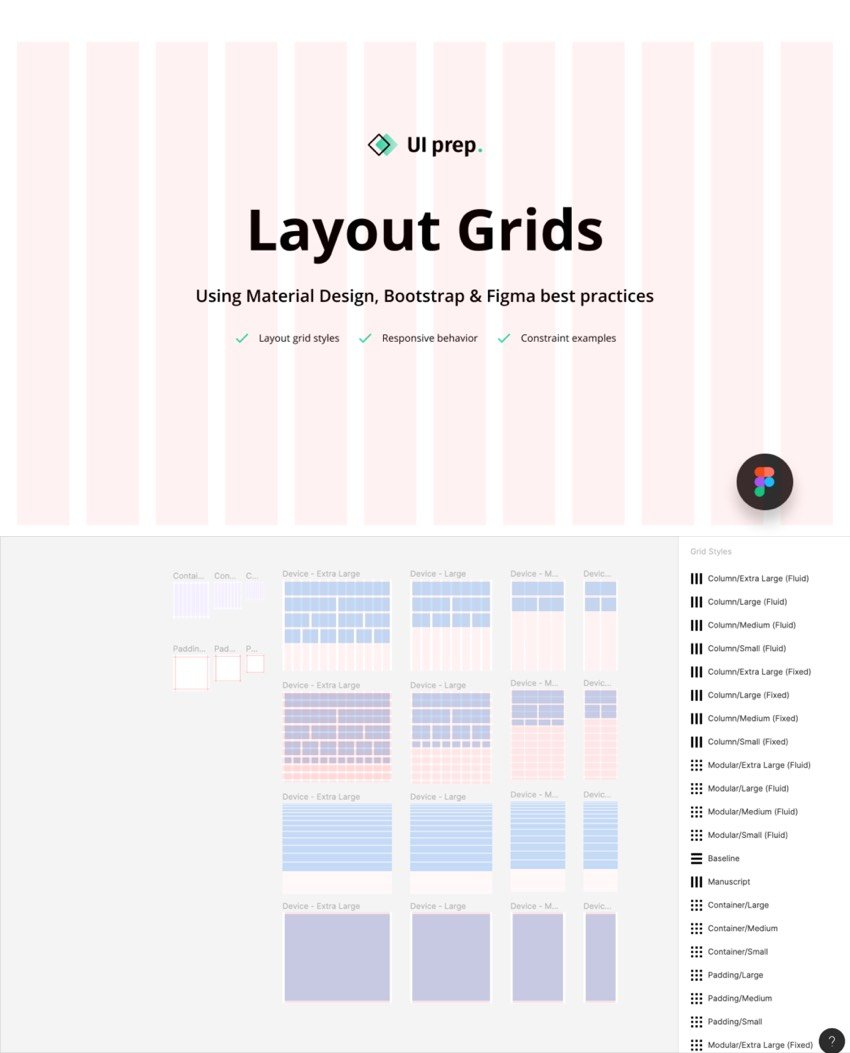 Layout Grids System for Figma