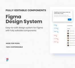 Figma Design System - Fully Editable Components