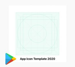 Google Play Store App Icon Template for 2020