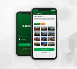Logistic UI Kit PSD files
