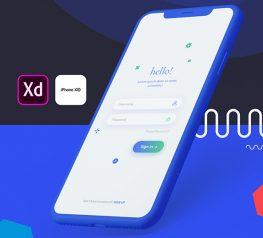 Login UI Kit vol 2 - Xd resource