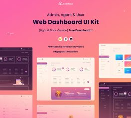 dashboard ui kit screens