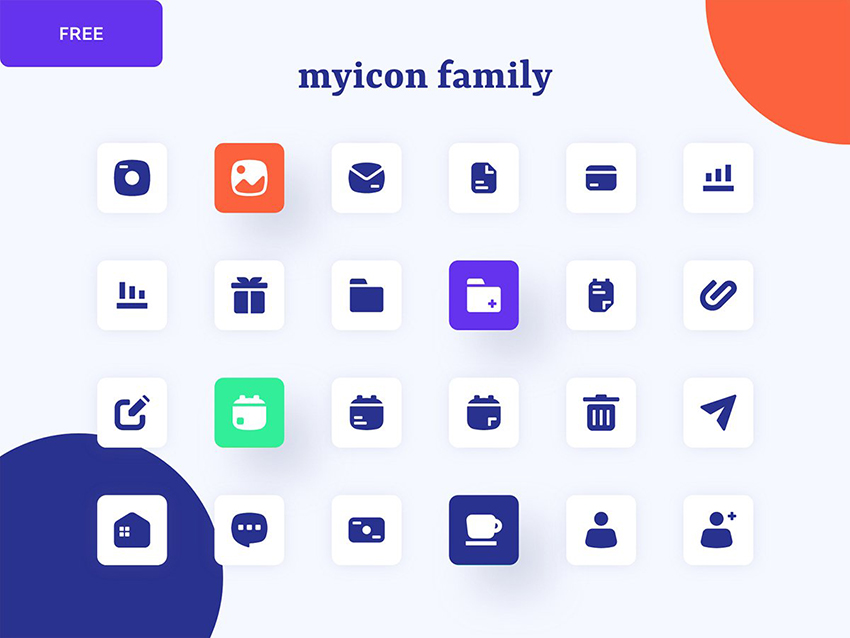 24 free figma icons pack