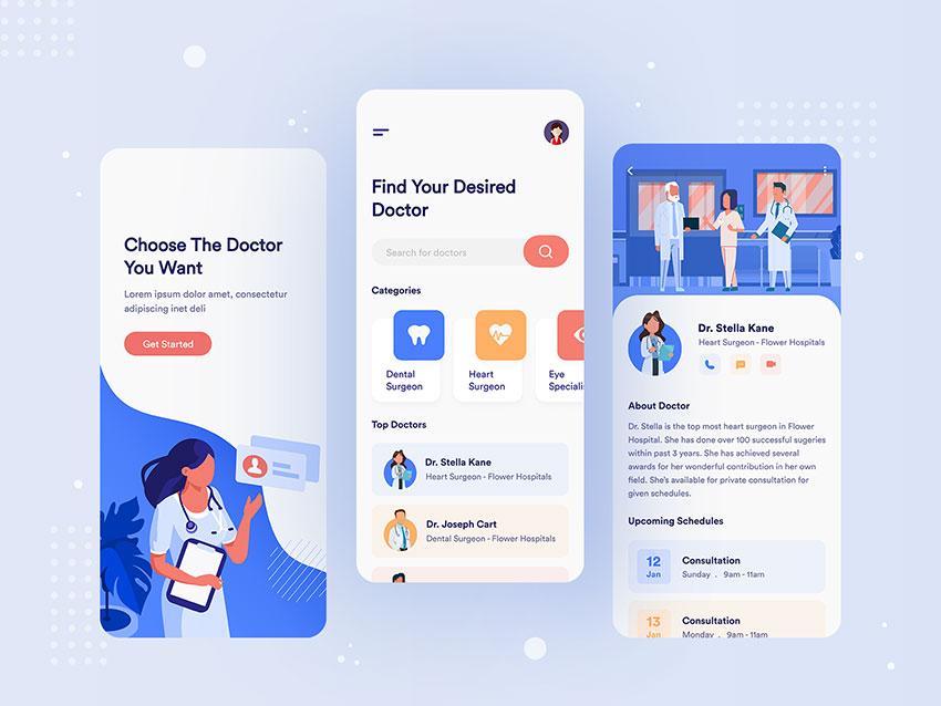 Medical Doctor Consultation App