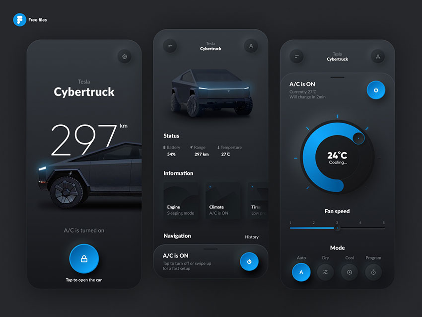 Car Setup Figma App UI