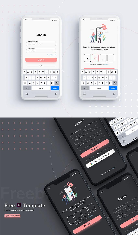 Sign In & Passcode UI Kit