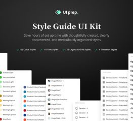 UI Prep Style Guide figma