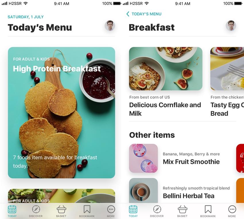 Food App Light Version