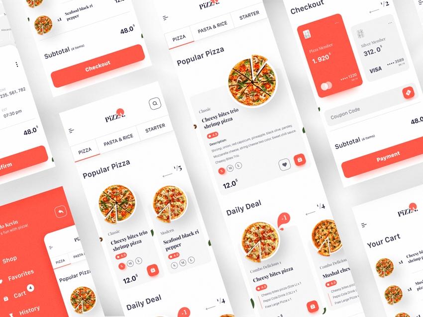 Pizza Store App Online