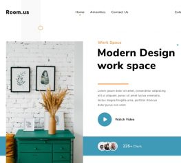 Modern Web Template Design