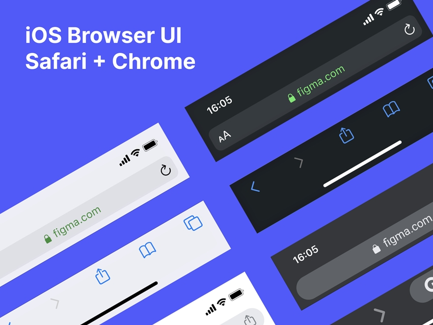 iOS Browser UI Kit