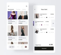Fashion Store App Design