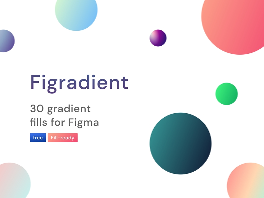 30 Gradient Fills for Figma