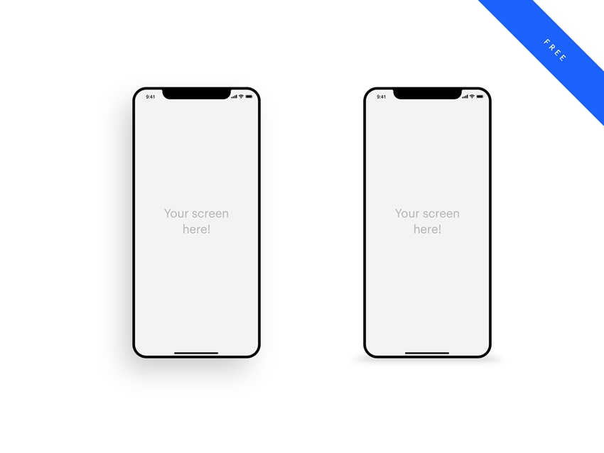 iPhone Mockup for PSD