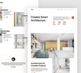 Architect HTML Template bootstrap web design