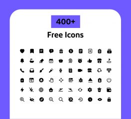 400+ filled Icons vector