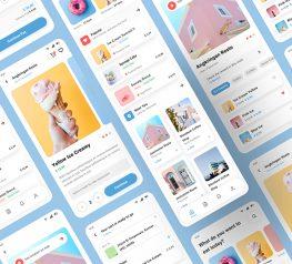food delivery app design figma freebie ecommerce