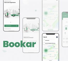 Taxi Service App UI Kit adobe xd