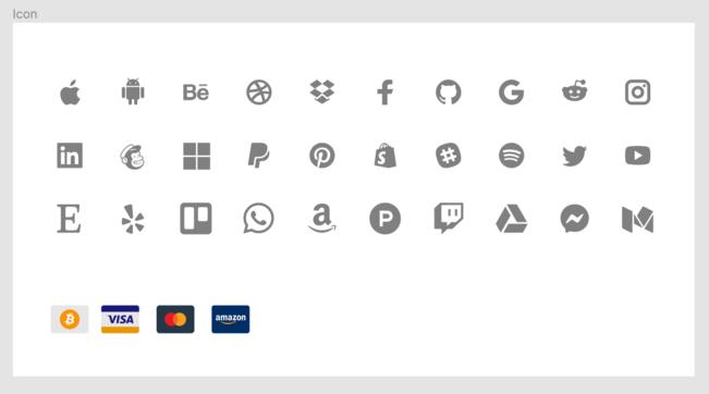 Apps & Payment Methods UI figma
