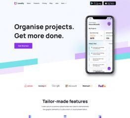 Landing Page UI Kit figma