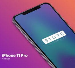 iphone 11 pro mockup psd photoshop free