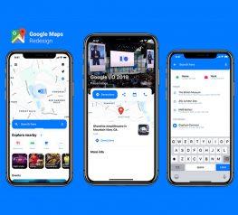 Google Map Redesign figma freebie