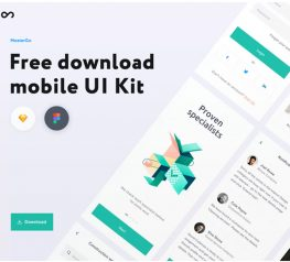 Multipurpose Mobile UI Kit figma sketch iphone free