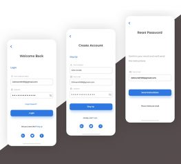SignUP and Login UI Kit adobexd free download