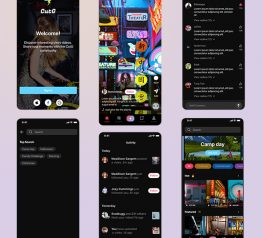 Social Media Video App UI figma free download