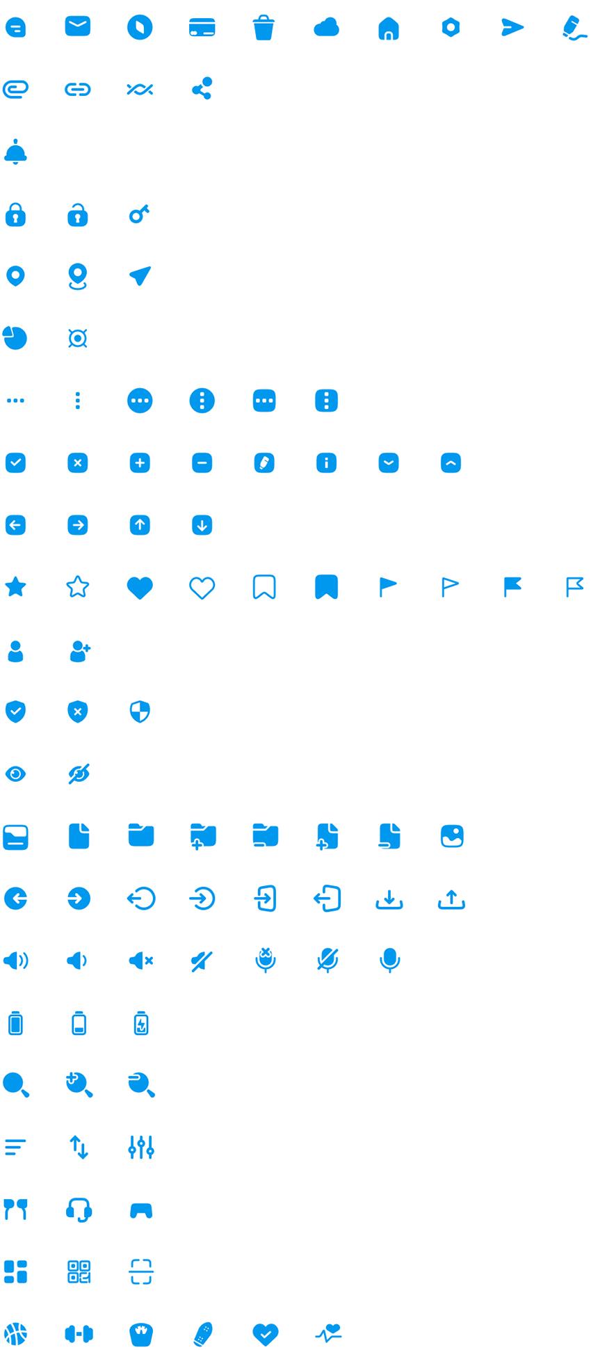 Free 100 Multipurpose Icons figma free download