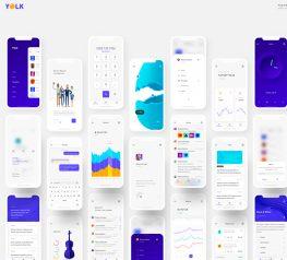 Yolk - Universal iOS UI Kit sketch free download