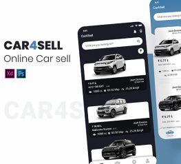 Car Sell & Buy App Design