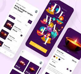 E-commerce App UI kit adobexd free download