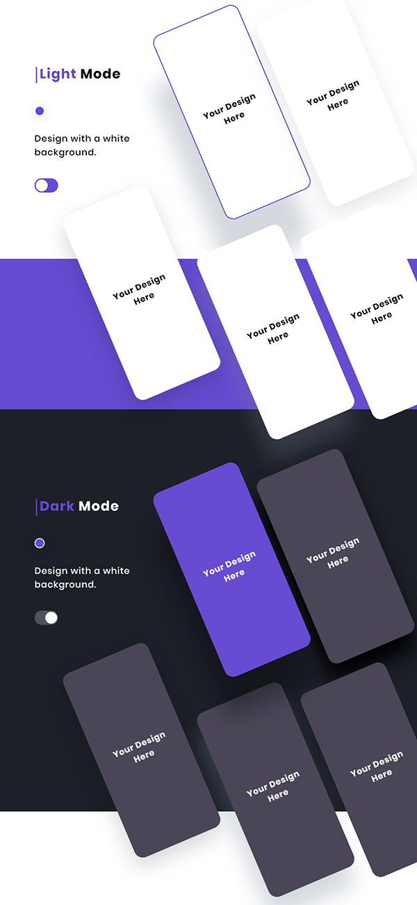 App Presentation Template adobexd free download
