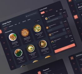 Food Orders Dashboard UI Figma