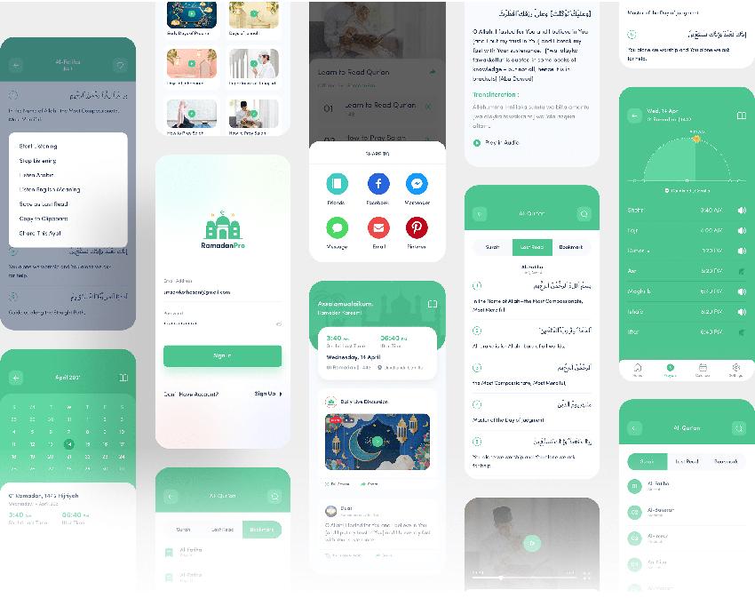 RamadanPro - Islamic App figma app