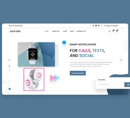 Tech Product Webdesign adobexd free