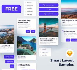 Sketch Smart Layout Kit