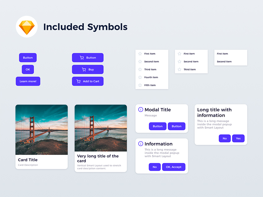 Sketch Smart Layout Kit sketch free download