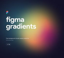 Free Gradient Backgrounds Visuals figma download