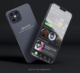 Spotify App Redesign UI Kit adobexd