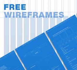 Website Wireframes UI Kit adobexd