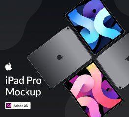Free iPad Pro Mockups adobexd download