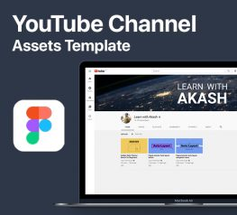YouTube Channel Assets template