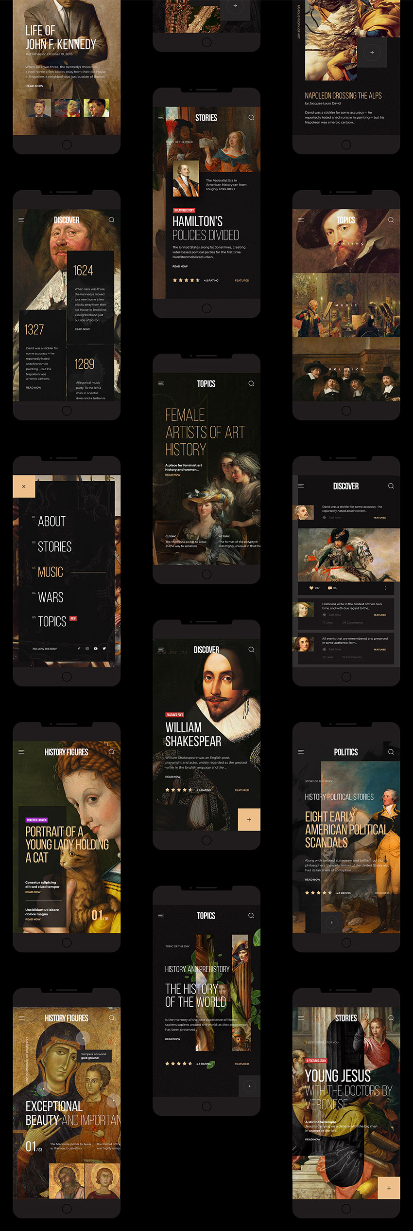 Art History Mobile App photoshop free download